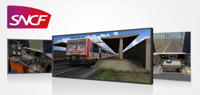 sncf traction, z2n, simulateur