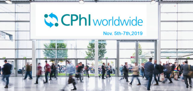 Salon CPhI Franckfort du 5 au 7 novembre 2019
