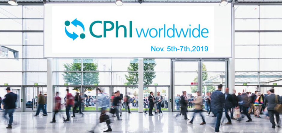 CPhI Frankfurt Show from November 5th to 7th, 2019