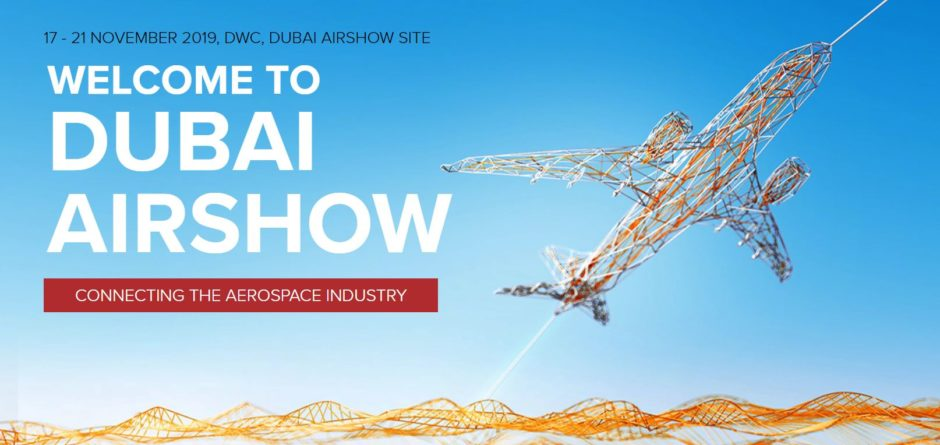 Dubai AIR SHOW exhibition from 17 to 21 Nov. 2019