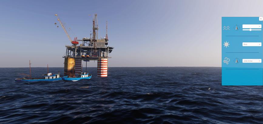 Un nouveau simulateur maritime
